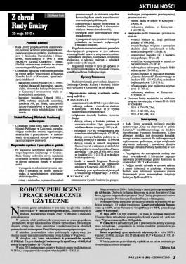 Prządki 06/2010 strona 3